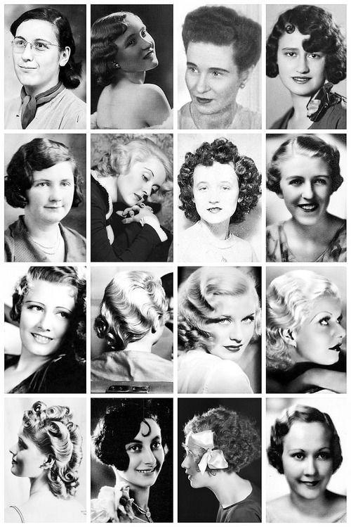coafuri la moda in anii 30