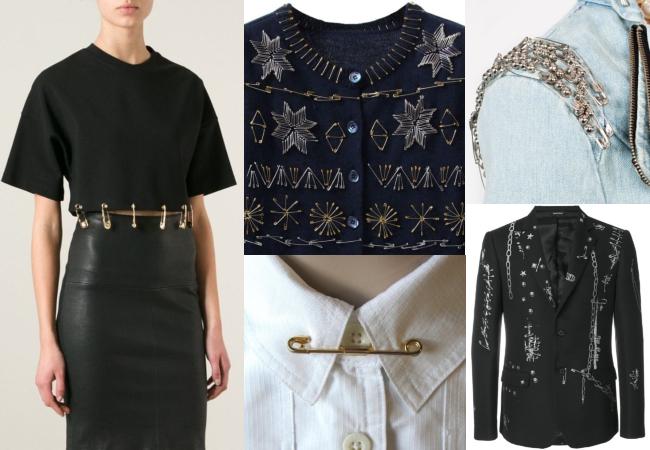 haine cu ace de siguranță decorative tutorial de brățară cu ace de siguranță