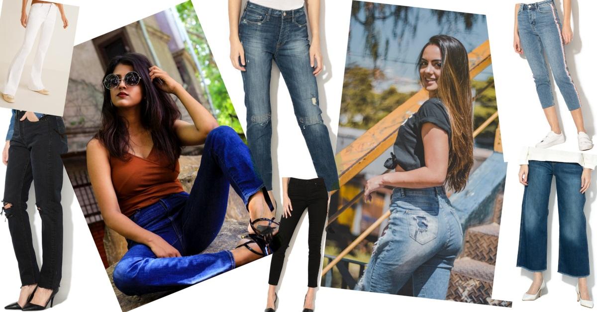 blugi cu talie înaltă de firmă_modele_orice stil