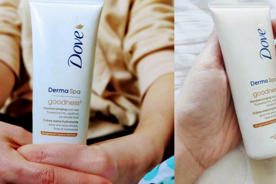 cremă de mâini Dove Derma Spa Goodness_review și păreri