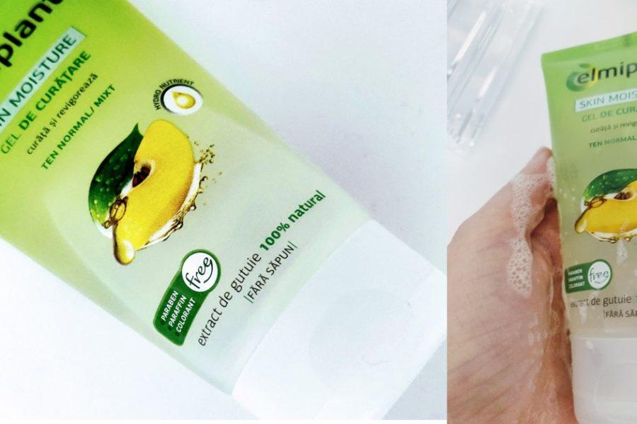 gel de curățare cu extract de gutuie Elmiplant pentru ten normal și mixt_păreri după utilizare