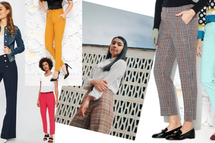 pantaloni office care pot fi purtați nu doar la birou