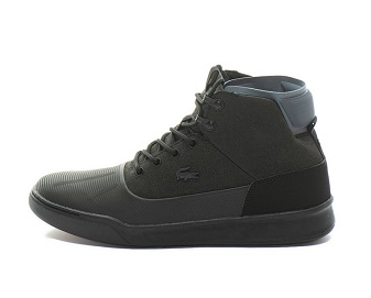 pantofi sport Lacoste impermeabili negri pentru bărbați