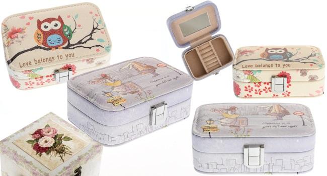cutii de bijuterii compartimentate ideale pentru călătorii_idei de cadou de buget redus