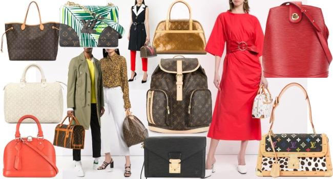 genți și poșete Louis Vuitton vintage