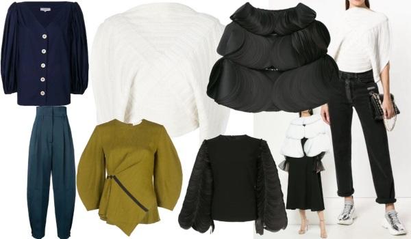 haine de firmă de designer în formă circulară de lux