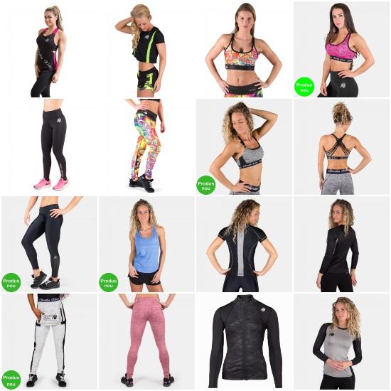 haine de fitness pentru femei Gorilla Wear_bustiere_colanți_bluze_pantaloni_maiouri_tricouri_în care nu transpiri la sală