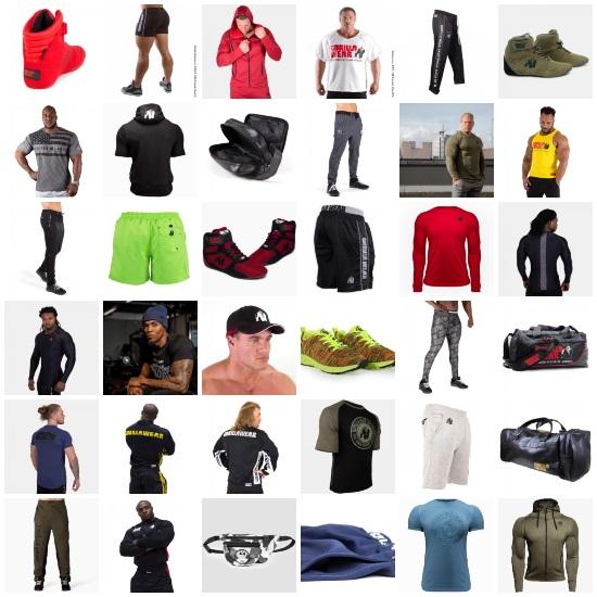 haine fitness și de sală pentru bărbați_articole sport_GorillaWear
