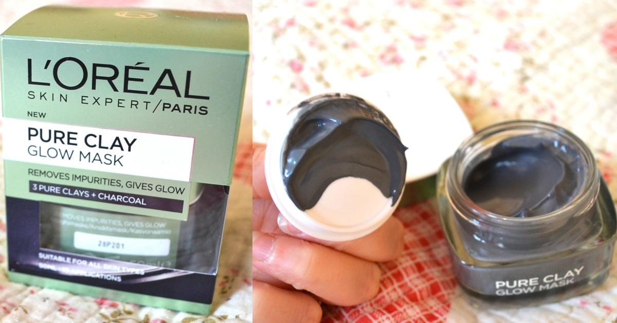 mască pentru ten LOreal Paris Pure Clay cu cărbune și 3 tipuri de argile_review