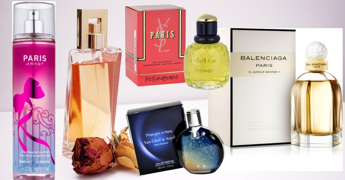parfumuri de femei și bărbați inspirate de Paris și în numele lor