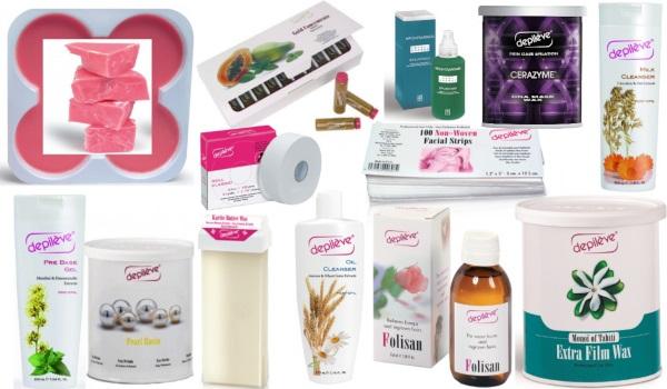 produse pentru diverse tipuri de epilare acasă