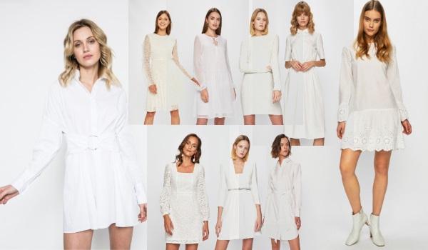 rochii albe pentru masă de Paști sau sărbători în familie