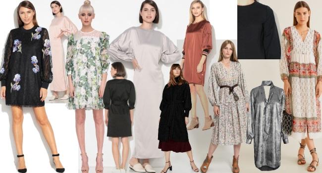 rochii circulare cu mâneci bufante exagerate