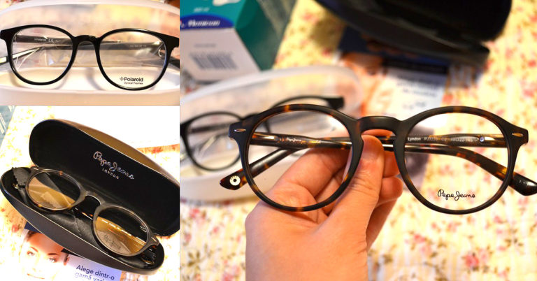 rame pentru ochelari de vedere Pepe Jeans și Polaroid comandă online_review_cum s-a desfasurat