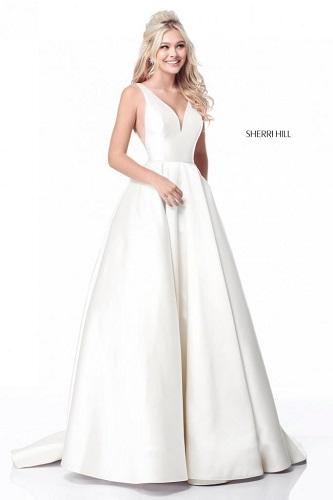 rochie de mireasă minimalistă