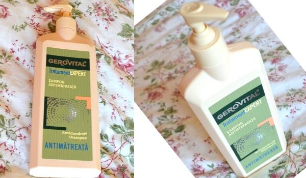 șampon Gerovital Tratament Expert antimătreață_review și păreri cu foto
