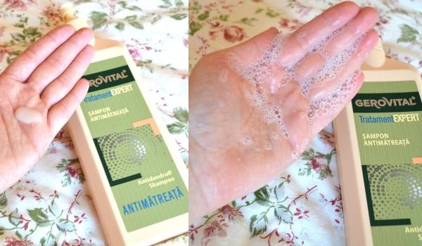 șampon antimătreață Gerovital Tratament Expert_review și păreri