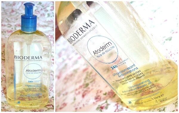 ulei de duș Bioderma Atoderm super hidratant și perfect pentru piele sensibilă_review