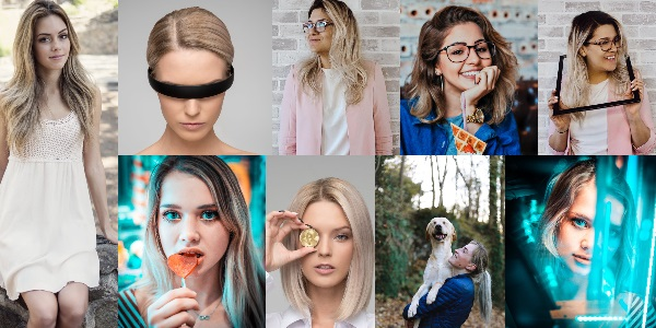 șuvițe blonde-argintii pe păr șaten sau brunet_sugestii