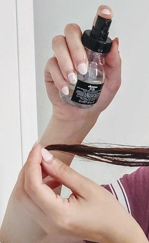 cum e uleiul de păr Davines OI Oil