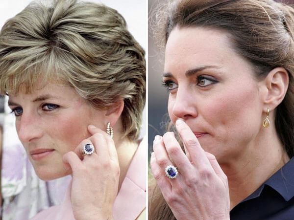 inel de logodnă Kate Middleton primit de la prince William