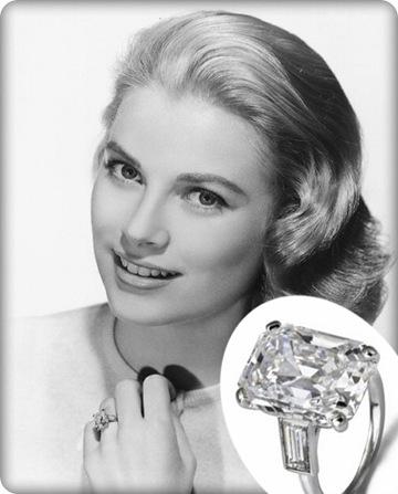 inelul de logodnă al lui Grace Kelly