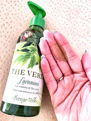 săpun lichid Bottega Verde The Verde_review