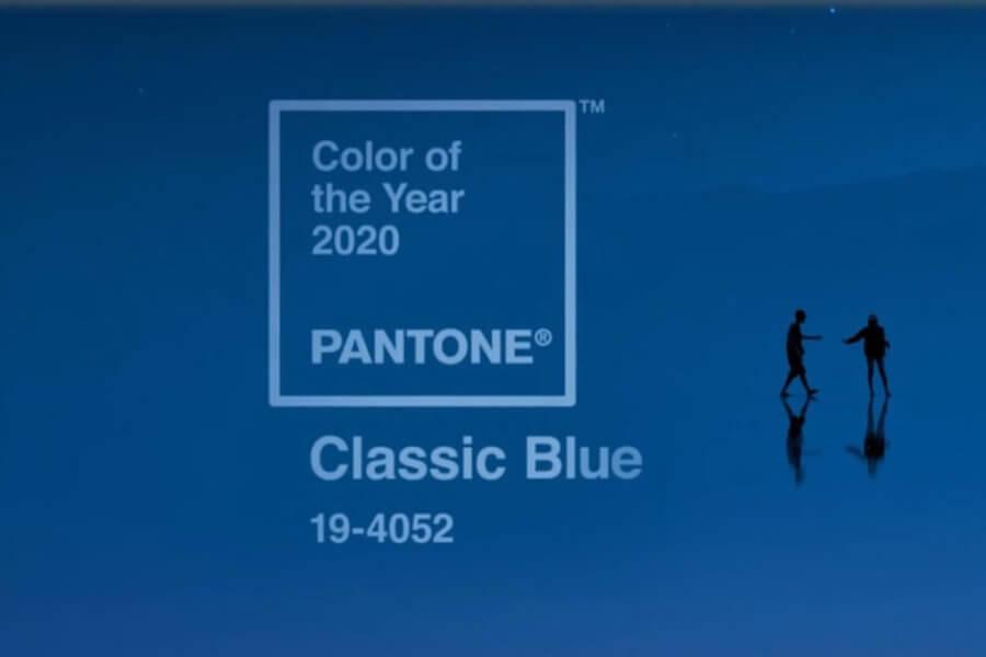 culoarea anului 2020 Classic Blue