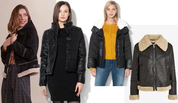 jachete din piele îmblănite potrivite pentru minione