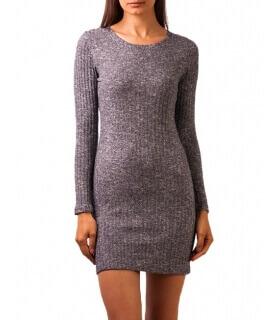 rochie-pulover dreapta tricotata