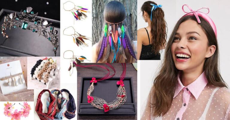 accesorii de păr la modă primăvara-vara
