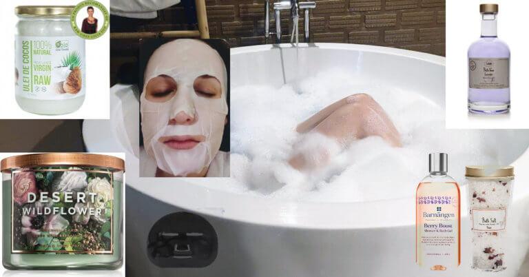ce ai nevoie pentru o baie spumoasă ca la spa