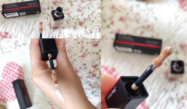concealer Shiseido Synchro Skin Self-Refreshing review și păreri cu swatch și foto