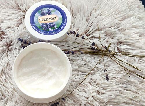 cremă de corp Herbagen cu apă de lavandă și unt de shea_review