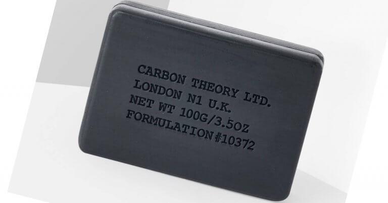cel mai bine vândut săpun solid antiacnee Carbon Theory vegan cu cărbune activ