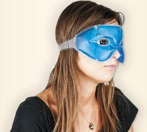 mască cu gel pentru ochi - reduce cearcănele și pungile de sub ochi