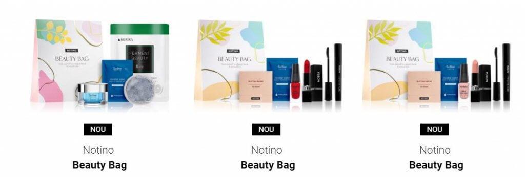 notino beauty bags cosmetice pentru ten și machiaj