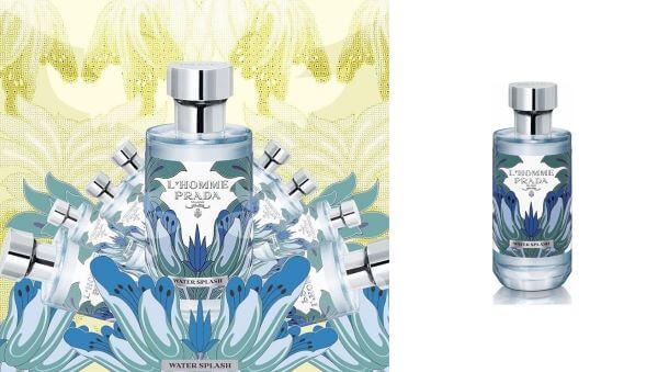 parfum prada-lhomme-water-splash pentru bărbați