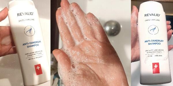 șampon antimătreață și contra căderii părului Revalid cu extract de urzică_cum este