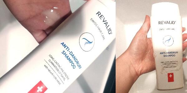 șampon antimătreață și contra căderii părului Revalid cu extract de urzică_review