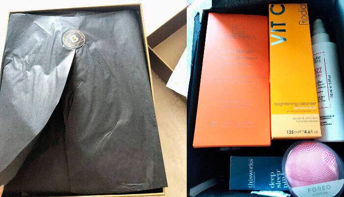 Royal Beauty Box de la Look Fantastic ambalare ca un cadou