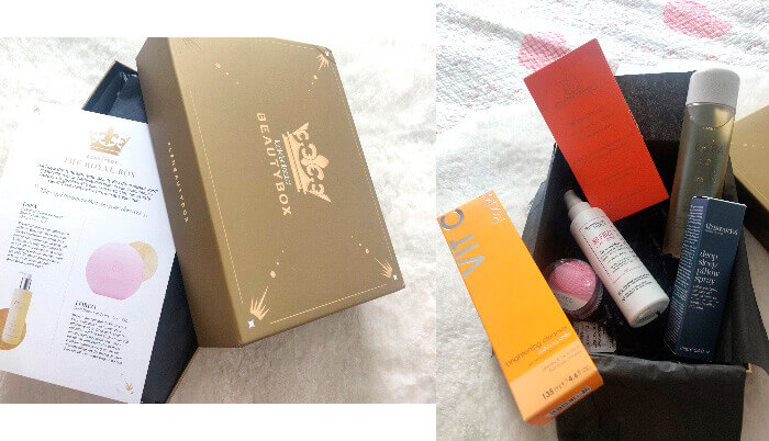 royal beauty box look fantastic conținut și review comandă