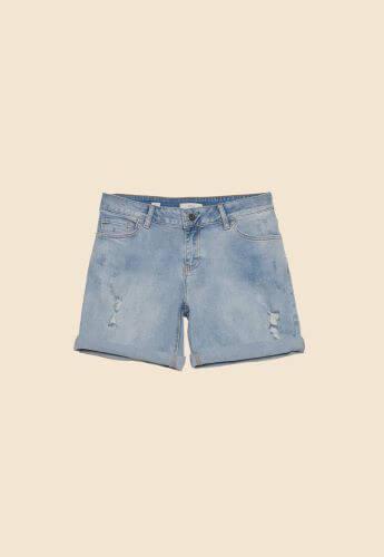 pantaloni scurți din denim mărimi mari XXL Oltre