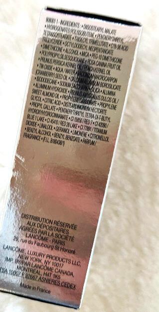 lista de ingrediente Lancome Juicy Shaker ulei de buze