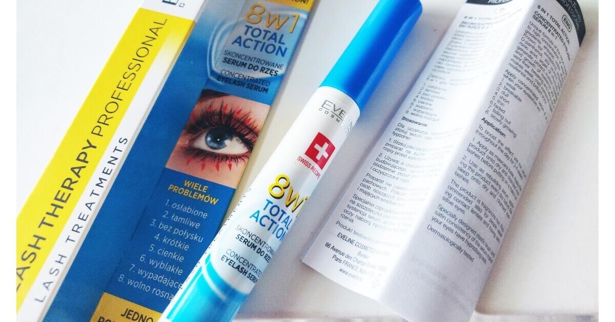 Tratament și primer pentru gene 8 in 1 Total Action Eveline Cosmetics review