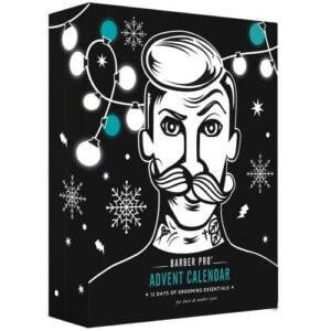 calendar de advent cu măști faciale tip sheet mask pentru bărbați Barber Pro