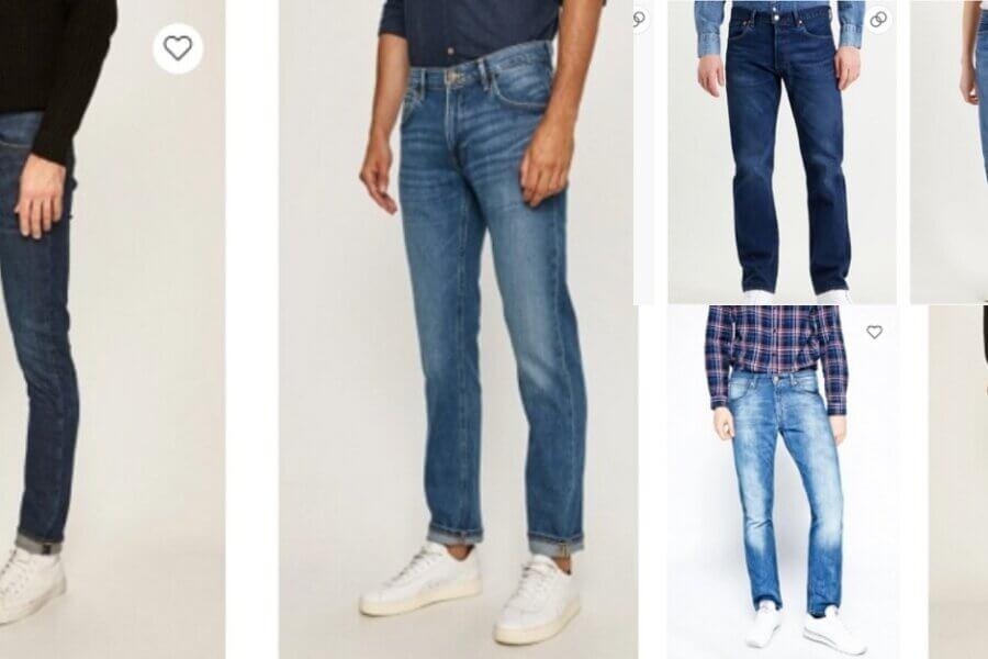 cele mai bune branduri de blugi pentru bărbați