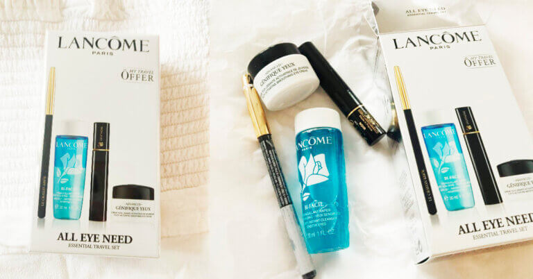 Travel Kit Lancôme All Eye Need unpack & păreri