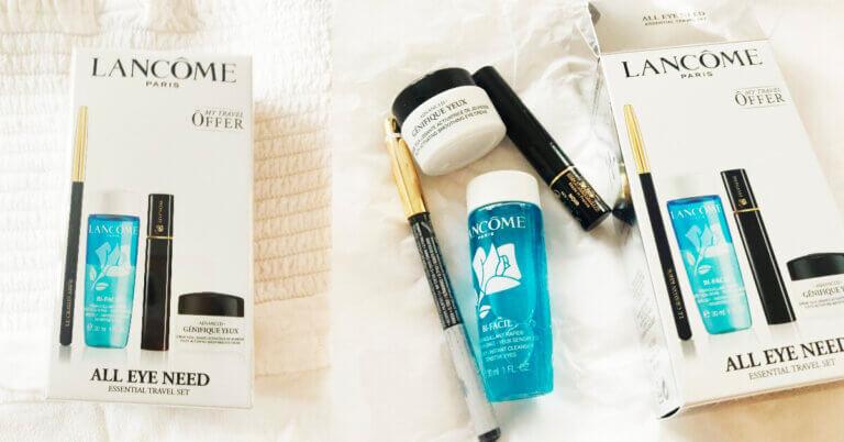 Travel Kit Lancôme All Eye Need unpack & păreri