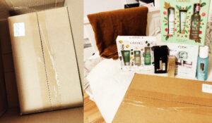 cum s-au livrat pachetele de Crăciun cu cosmetice de la Look Fantastic (1)